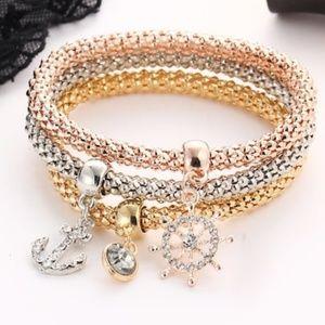 NWOT Anchor Bracelets